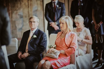 Father & Mother of the bride