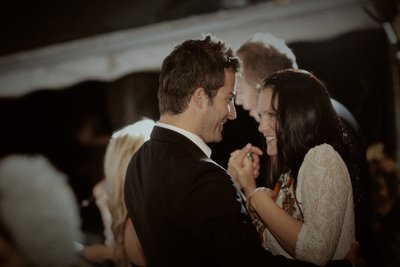 couples dance Villa Richter Weddings