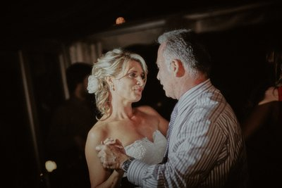 First dance of bride & father Villa Richter Prague