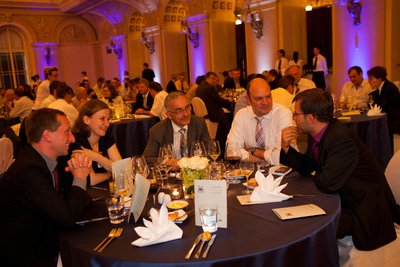 Palace Zofin Gala Event guests at tables