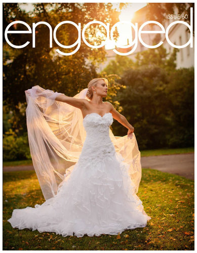 ENGAGED Magazine Jess Golden Light Portrait Prague