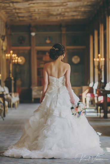 London Syon House luxury wedding bridal portrait Sherri