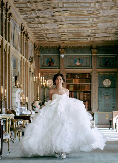 The beautiful Syon House bride