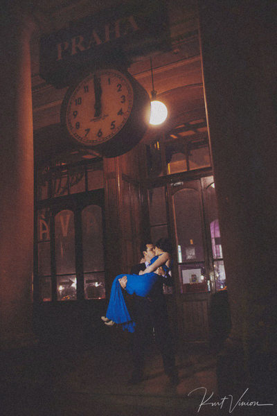 Midnight at the Train Station - Prague Lifestyle Photos