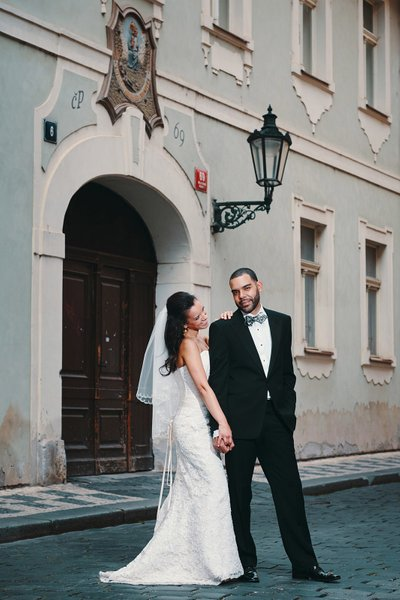 Leslie & Anthony Prague wedding client review
