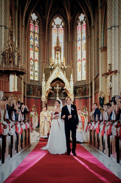 Anna & Mira - St. Ludmila wedding Prague