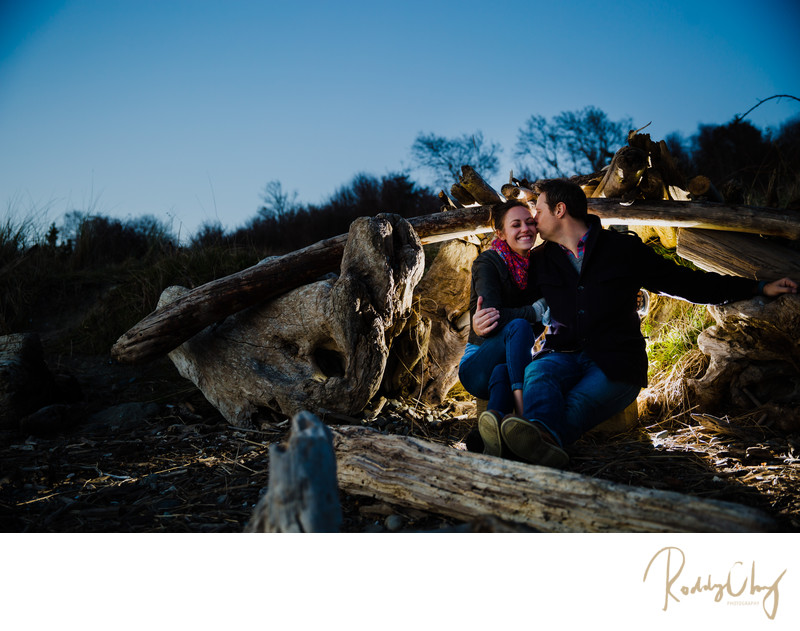 Discovery Park Engagement Photographer