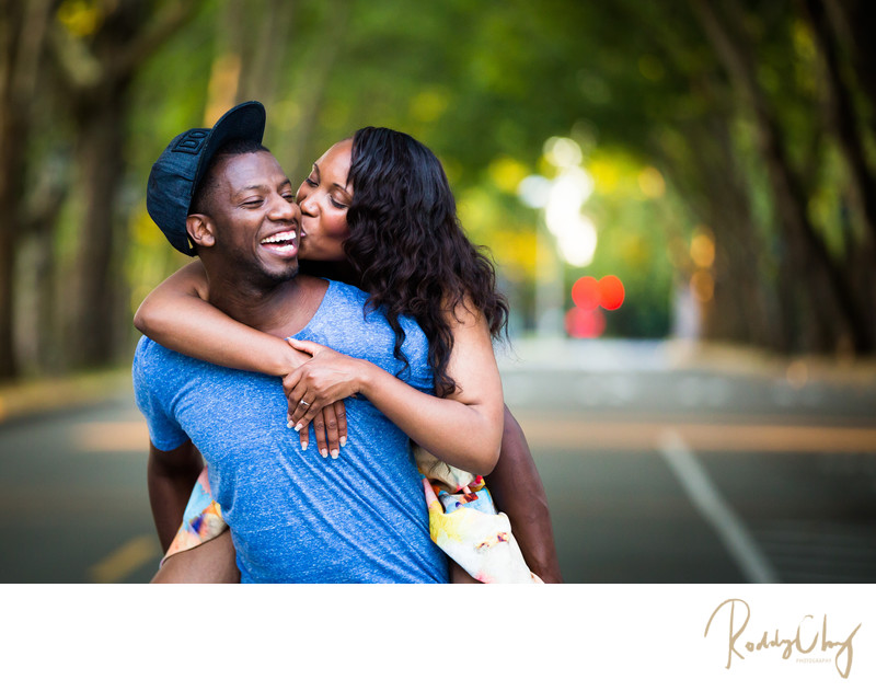 Engagement Session at University of Washington Seattle