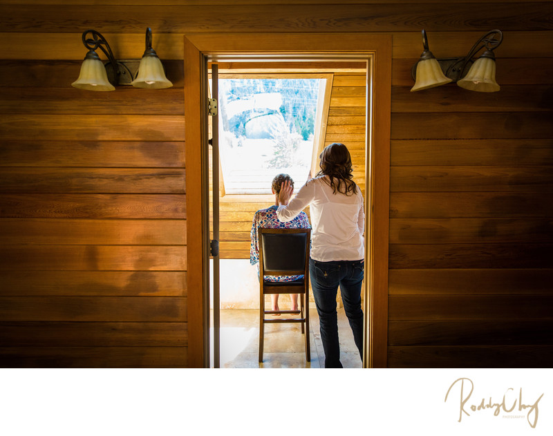 Photograph at Big House Lodge Wedding Cle Elum
