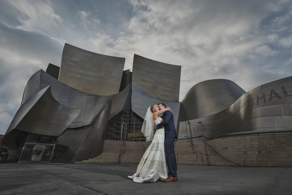 Los Angeles Disney Concert Hall Wedding Photography