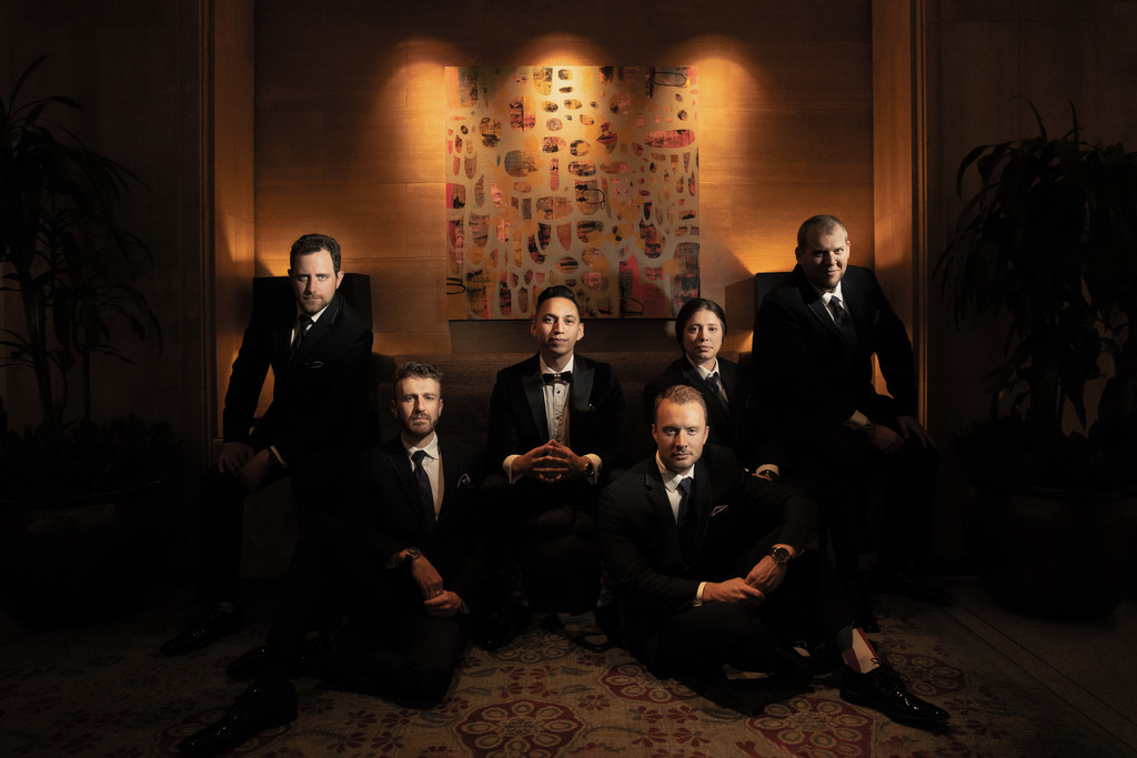 Washington Athletic Club Groomsmen Portrait