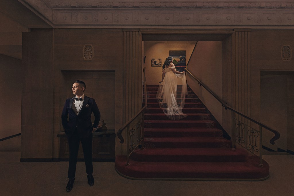 Washington Athletic Club Wedding Photo