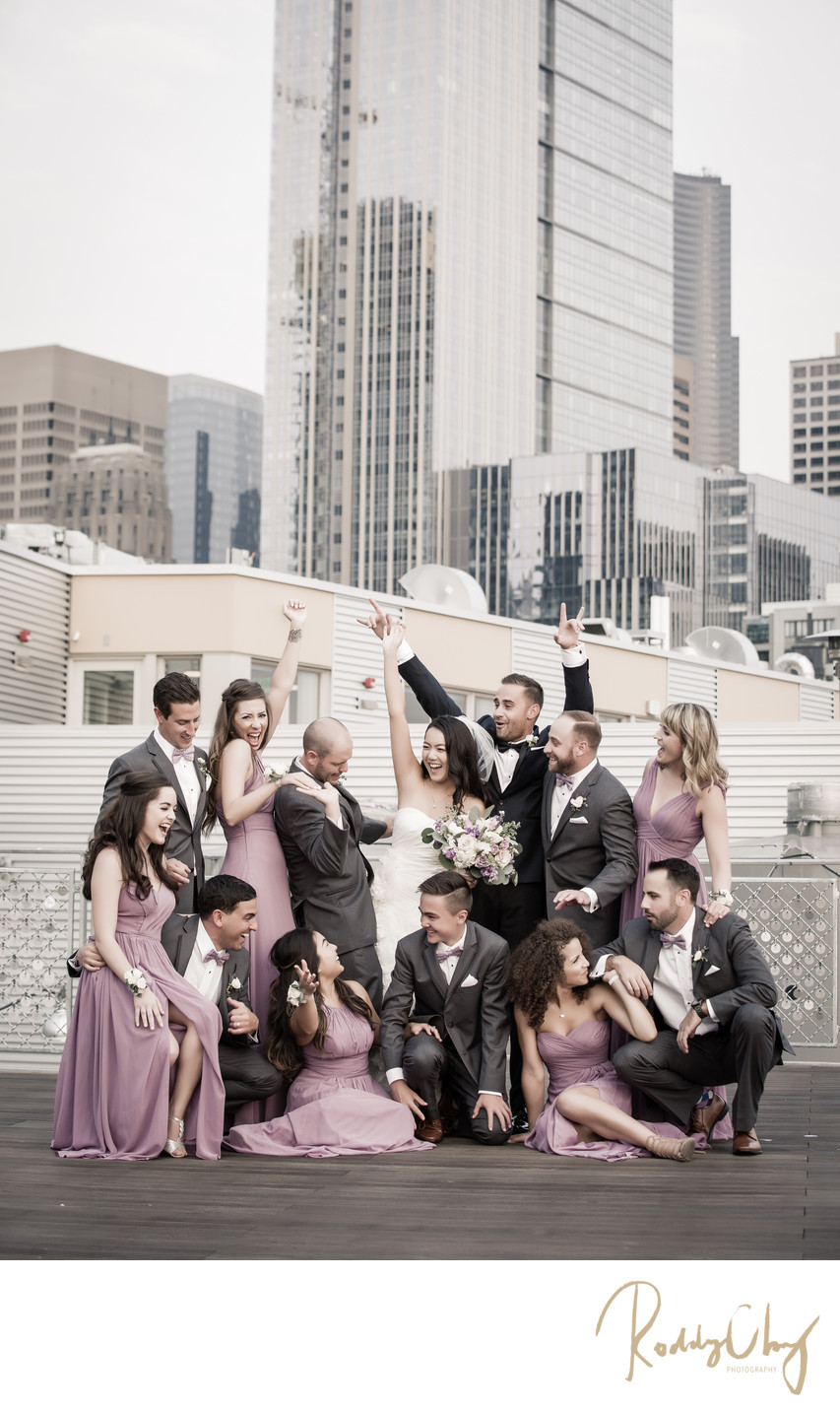 Seattle Downtown Wedding Photography