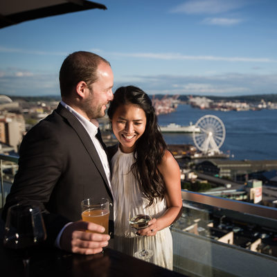 Thompson Hotel Seattle Engagement Session