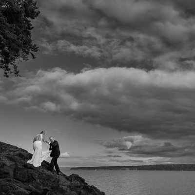Olympic Peninsula wedding photographer