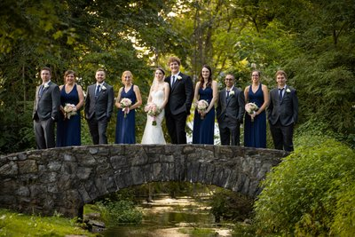 Wedding Party at Cameron Estates Inn