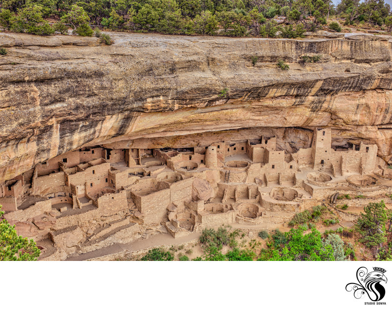 Cliff Palace in Mesa Verde National Park in Colorado