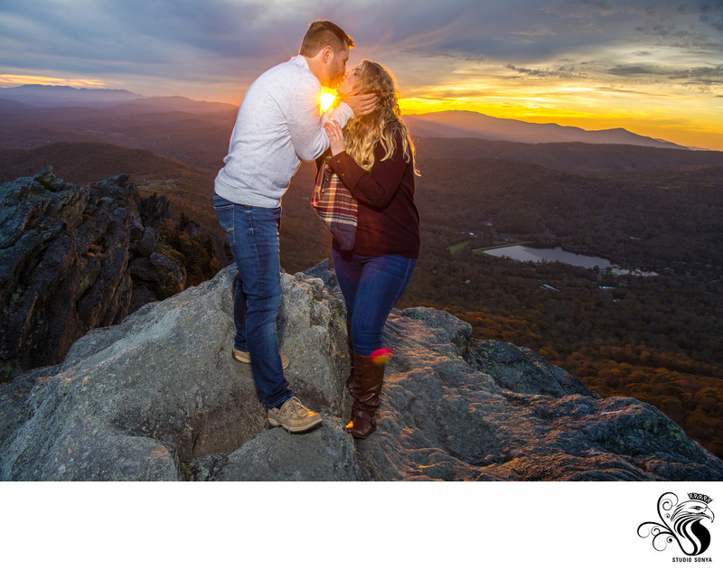Grandfather Mountain Engagement Session