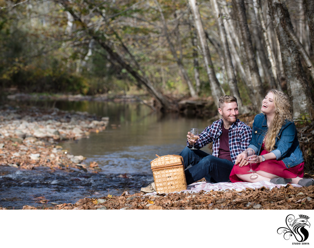 Picnic by Watauga River