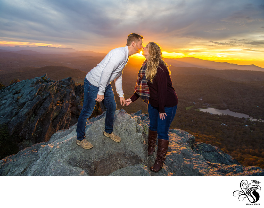 Engagement Session at Grandfather Mountain State Park