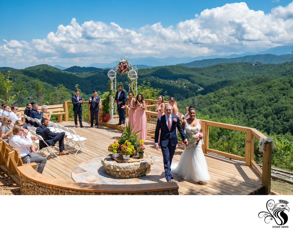 Wedding venue in the Great Smoky Mountains