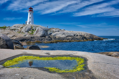 Peggy's Point Lighthouse, Peggy's Cove, Nova Scotia