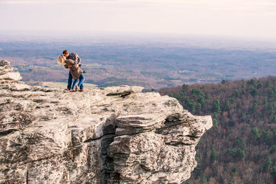 Hanging Rock State Park Engagement Session