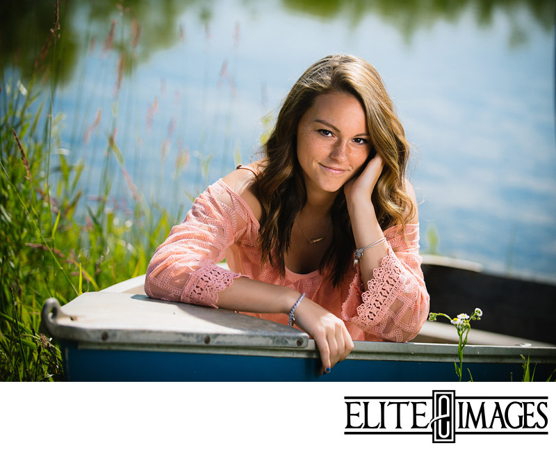 Outdoor Senior Portrait Photographer Dubuque