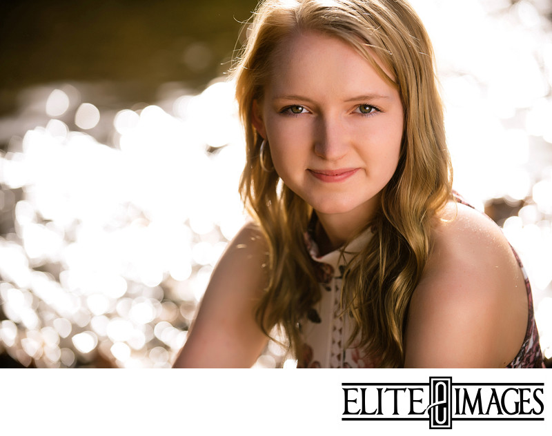 Cute Senior Portraits Dubuque Photographer
