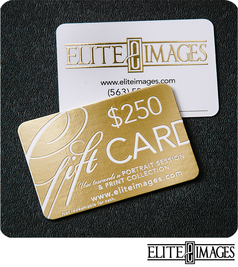Dubuque Photographer Gift Card