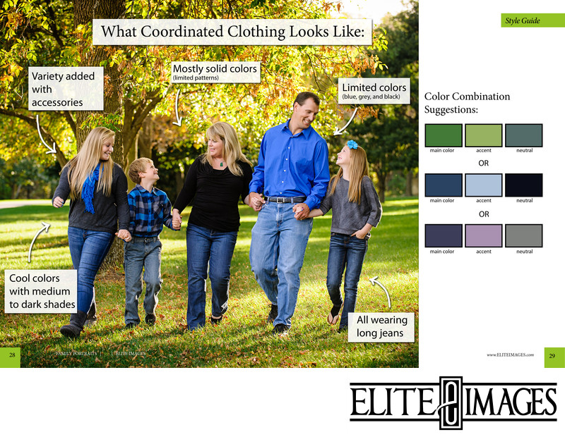 How to Dress for Family Portraits Dubuque