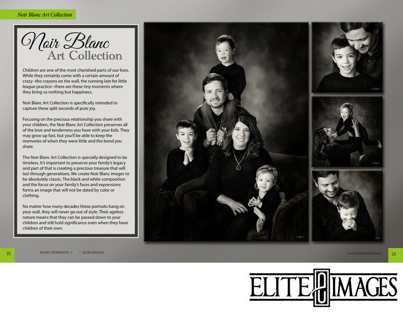 Black and White Family Portraits Collection