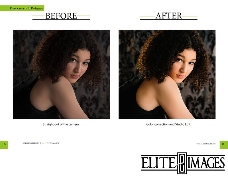 Professional Portrait Color Correction
