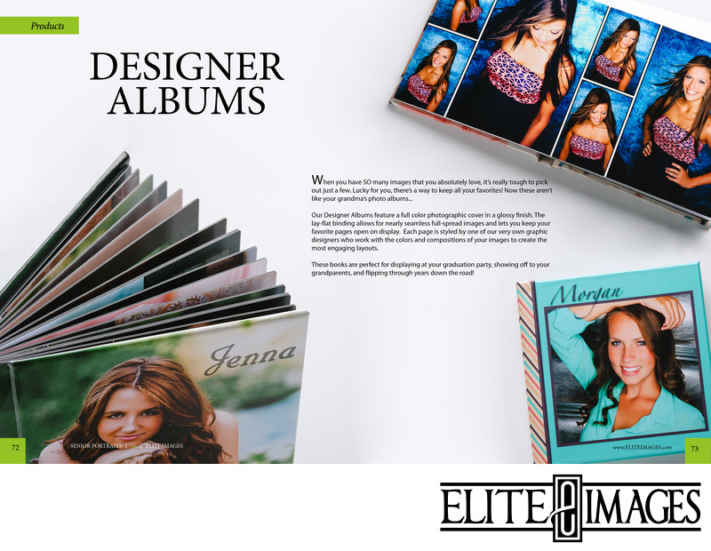 Dubuque Senior Portrait Designer Albums