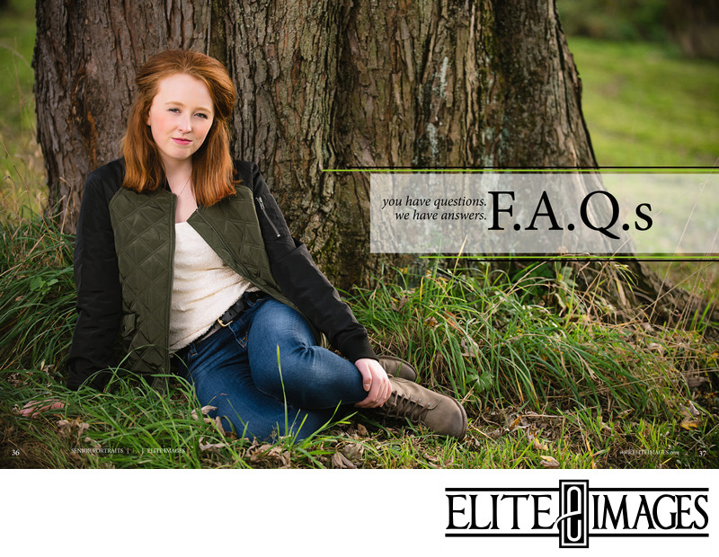 Dubuque Senior Portraits FAQ