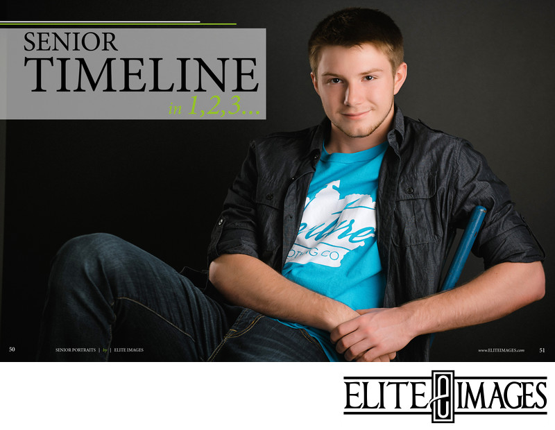 Dubuque Senior Portraits Timeline