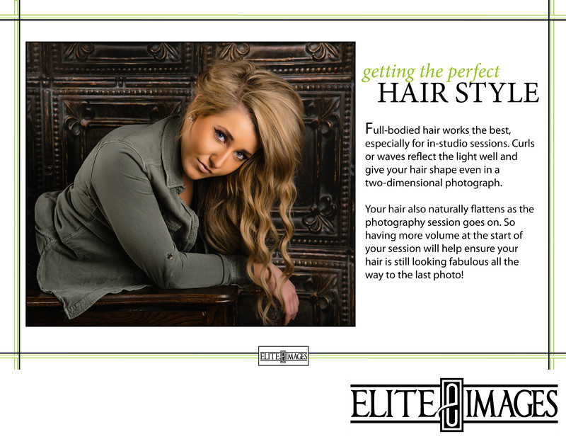 Senior Portrait Style Guide Hair Style