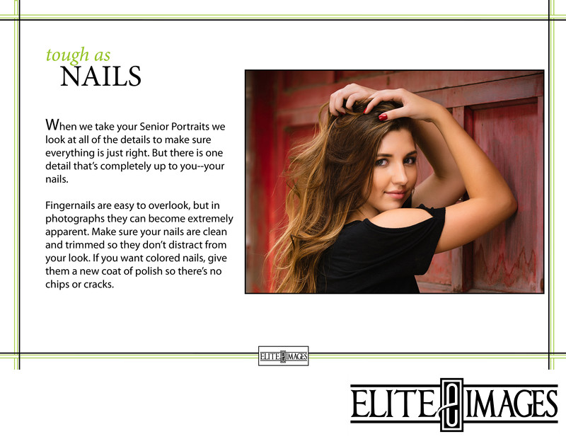 Senior Portrait Style Guide Nails
