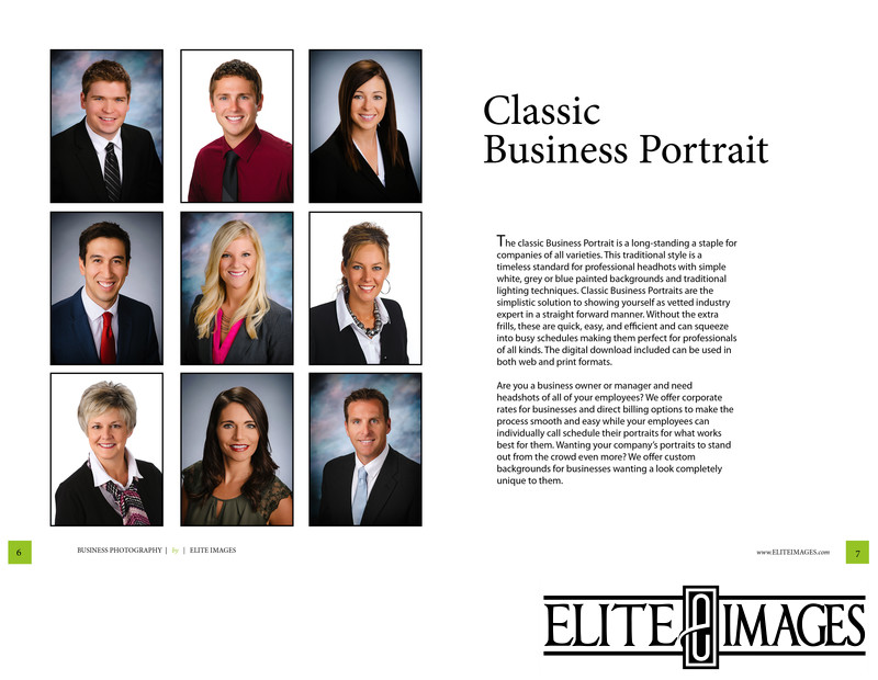 Professional Photography Classic Business Portrait 1