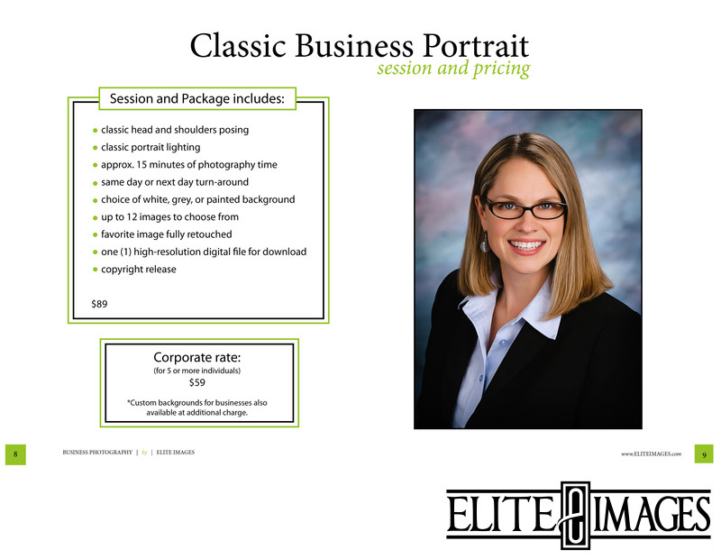 Professional Photography Classic Business Portrait 2