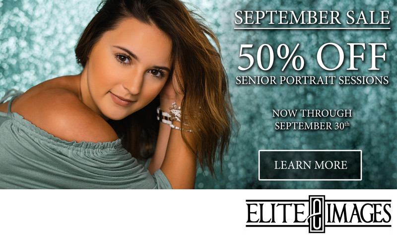 Senior Portrait September Sale Dubuque