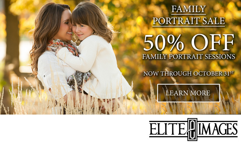 Family Portrait Sale October