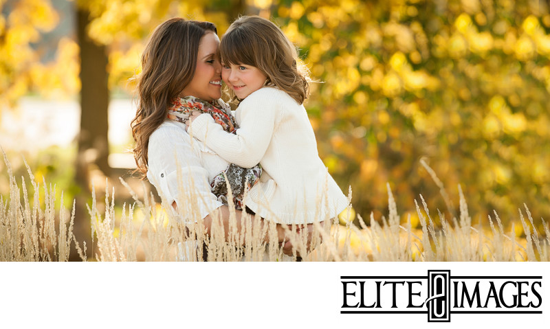 Dubuque Family Portraits with Fall Colors