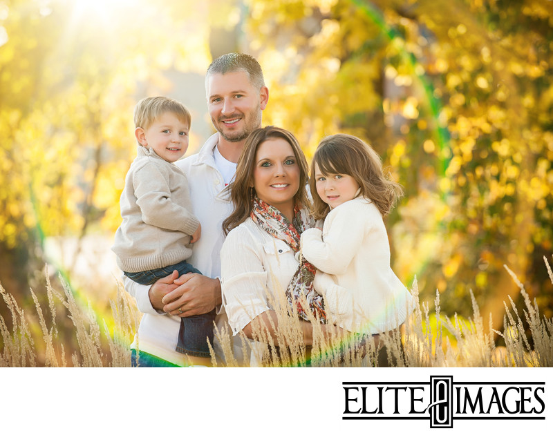 Beautiful Fall Family Portraits Dubuque