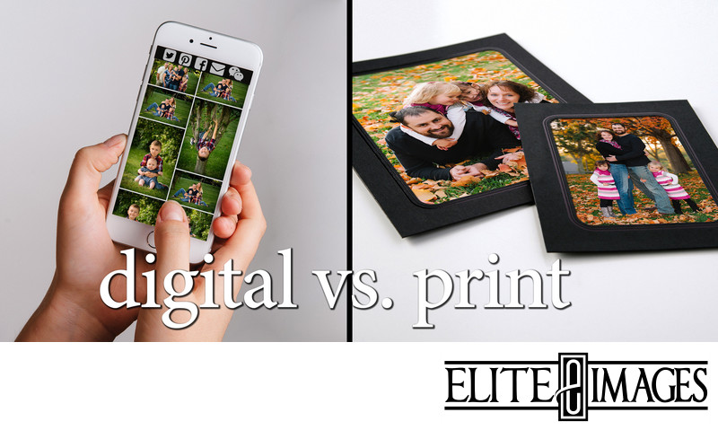 Digital Images Vs. Professionally Printed Portraits