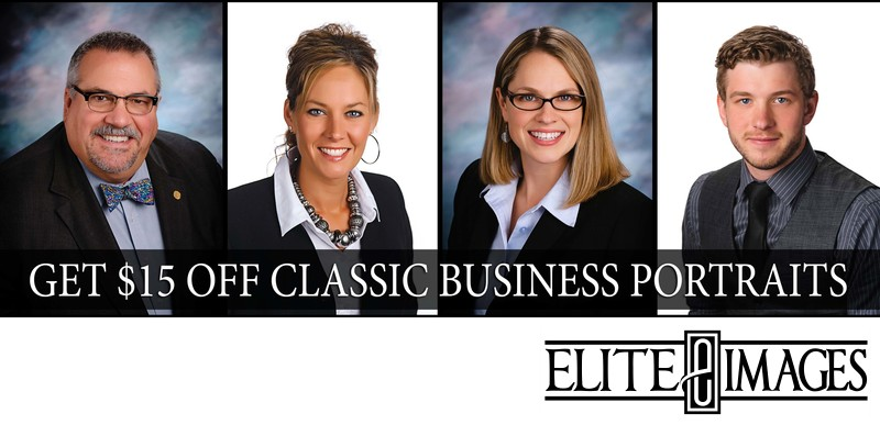 Get $15 Off Classic Business Portraits