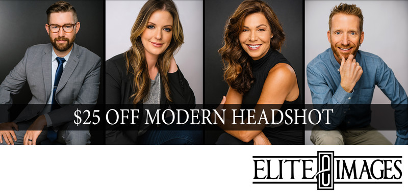 Get $25 Off of Modern Headshots