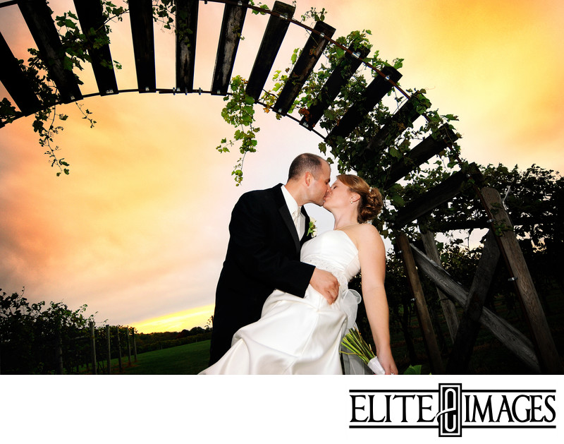 Romantic Wedding Photography in Dubuque