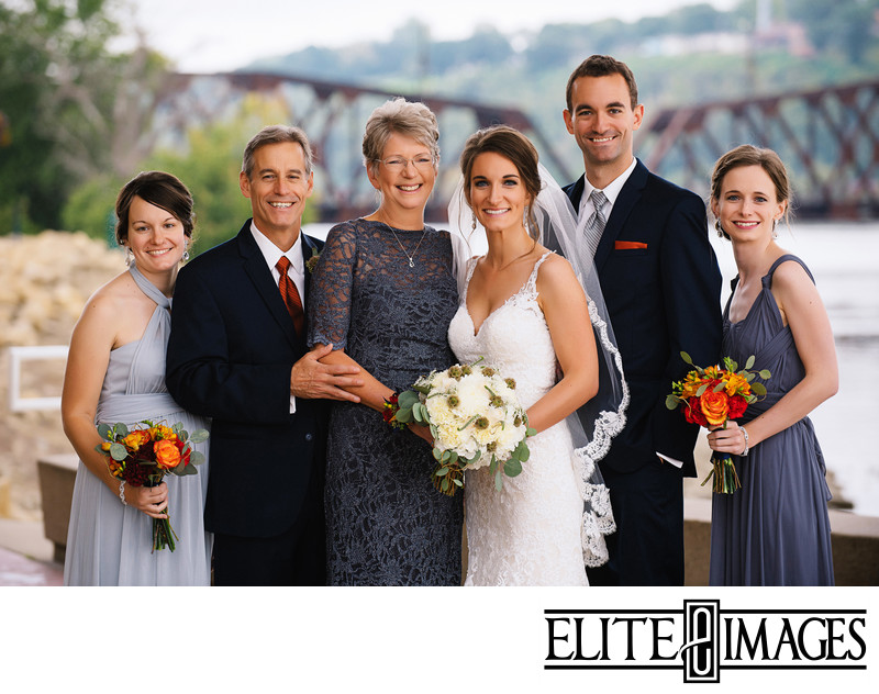 Dubuque Wedding Family Portraits