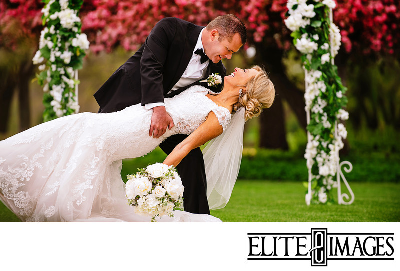 Outdoor Wedding Pictures in Dubuque